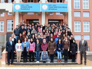 Yunak'ta yeni atanan 144 öğretmene kurs