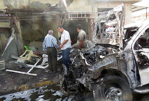Bağdatta bombalı araçla saldırı: 8 ölü, 22 yaralı