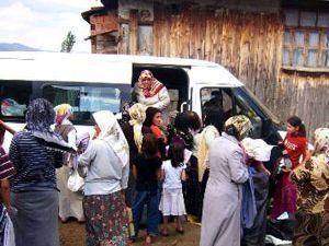 Müftülükten fakir ailelere yardım