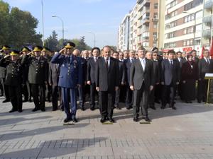 Konyada Atatürkü anma etkinlikleri düzenlendi