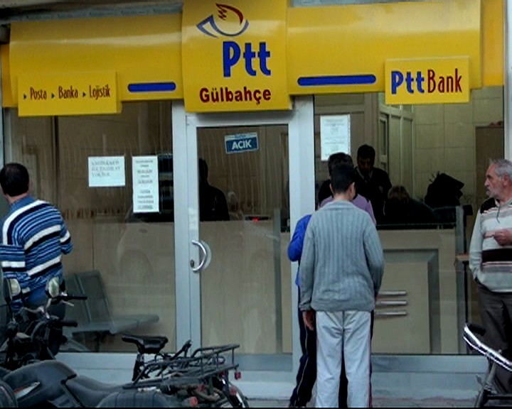 Konyada PTT soygunu