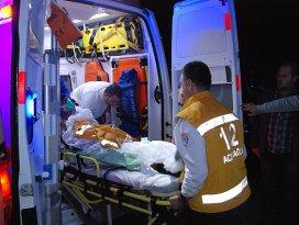 Edirnede grizu parlaması: 3 yaralı