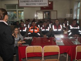 Jandarma personeline 'tütün' semineri