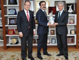 Avusturya Büyükelçisi Wölfer'den KTOya ziyaret