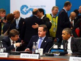 Davutoğlu Obama ile görüştü