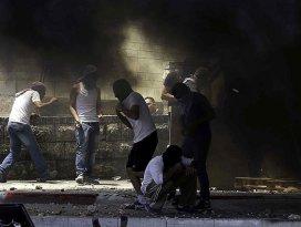 İsrail polisi ile Filistinliler arasında gerginlik