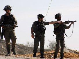 İsrail askerleri 8 Filistinliyi yaraladı