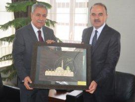 Başbakan yardımcısı Arınç Konya'da