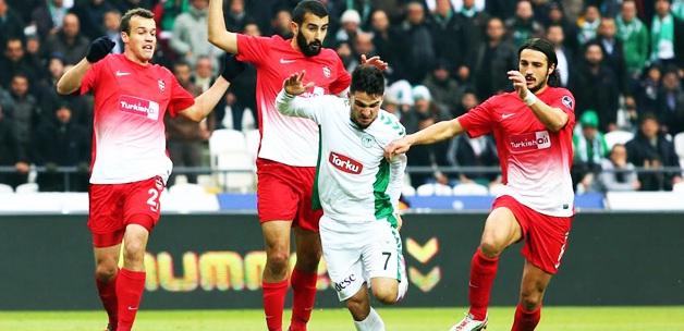 Torku Konyaspor evinde Antepe acımadı!