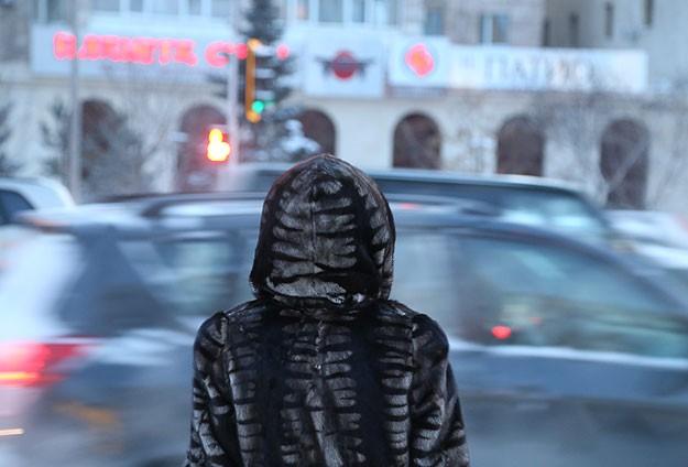 Kazakistanda dondurucu soğuk