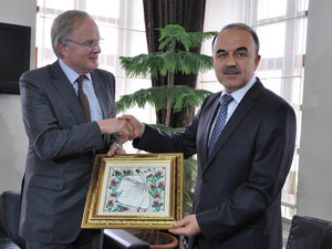 Alman Büyükelçi Pohl'den Vali Erol'a ziyaret