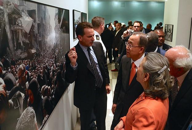 Uzun Yolculuk adlı fotoğraf sergisi BMde açıldı