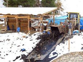 Ermenekte kar kalınlığı 25 santimetreye ulaştı