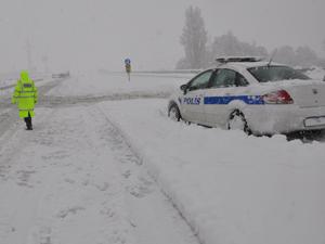 Konya'da bazı yollar trafiğe kapalı