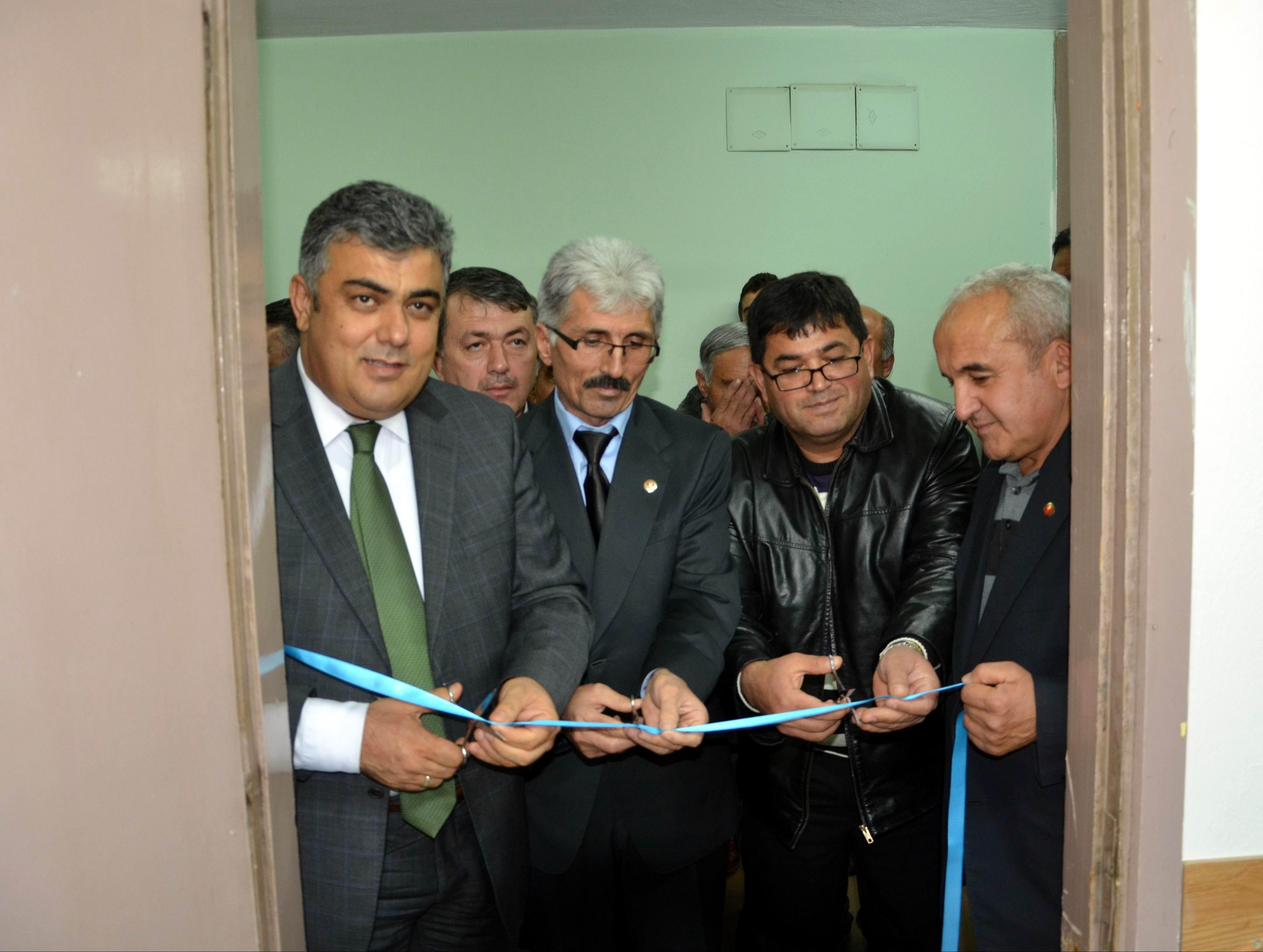 Ereğli'de muhtarlar irtibat bürosu açıldı
