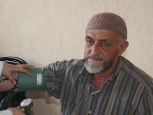 Karatay sağlık ekipleri Hayıroğlu'da