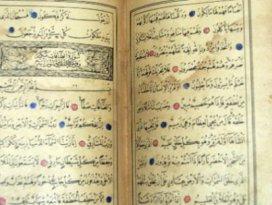 Bunu da yaptılar! 500 yıllık Kuran-ı Kerim...