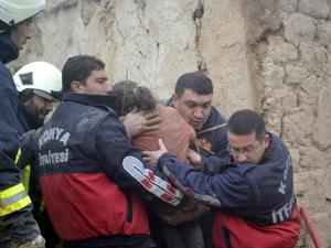 Suriyeli çocuklar göçükte kaldı: 1 ölü