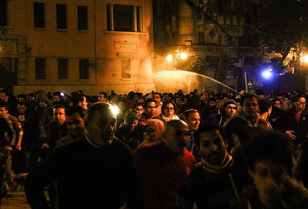 Mısırda protestoculara müdahale: 2 ölü