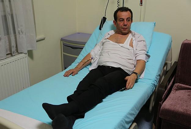 CHPli Özcan trafik kazası geçirdi