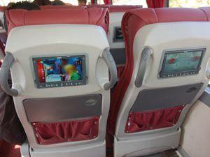 Uzun yolculuklarda LCD keyfi
