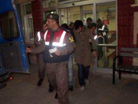 Konya'daki kürekli üç gaspçı tutuklandı