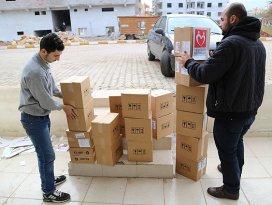 Yeryüzü Doktorlarından Suriyelilere ilaç yardımı
