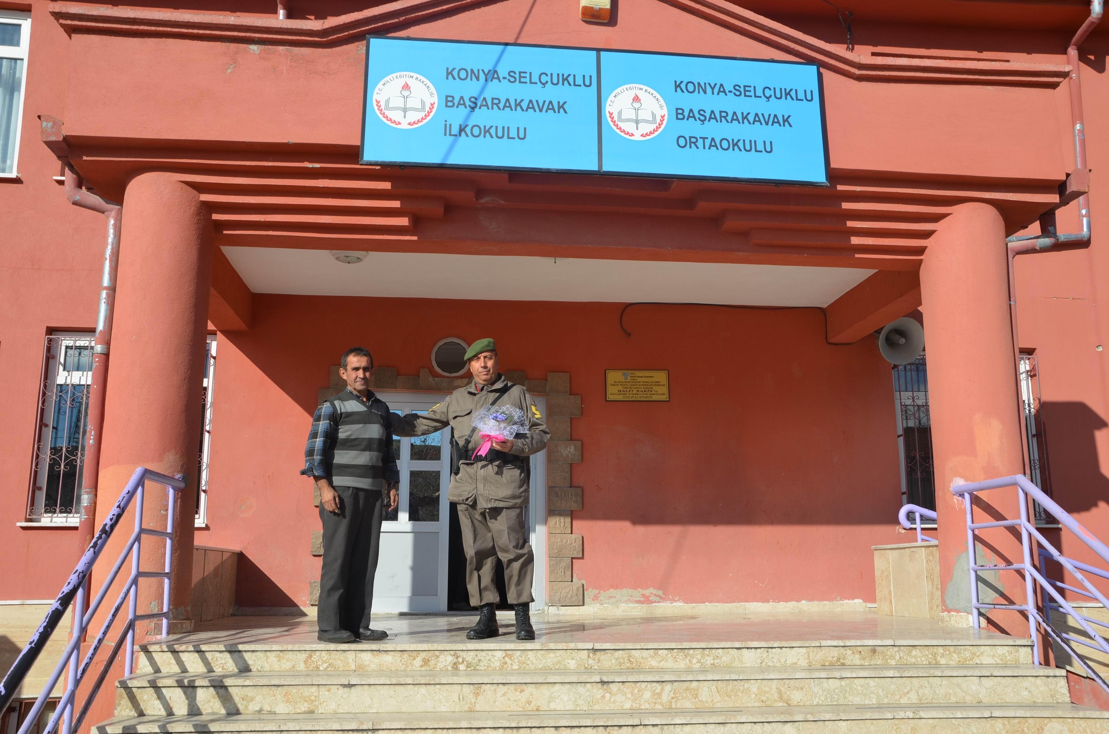 Jandarma'dan okullara ziyaret