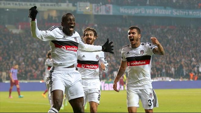 Konya, Beşiktaşa uğurlu geldi! 3-0