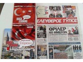 Yunan gazetesinden okuyucularına sürpriz