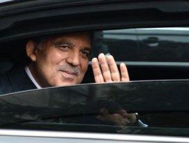 Abdullah Gül Huber Köşküne veda ediyor