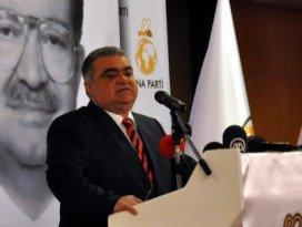 Ahmet Özal yeni partisini tanıttı