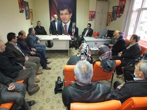Başkan Sorgun'dan ilçelere veda ziyareti