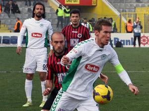 Torku Konyaspor yine 5 yedi!