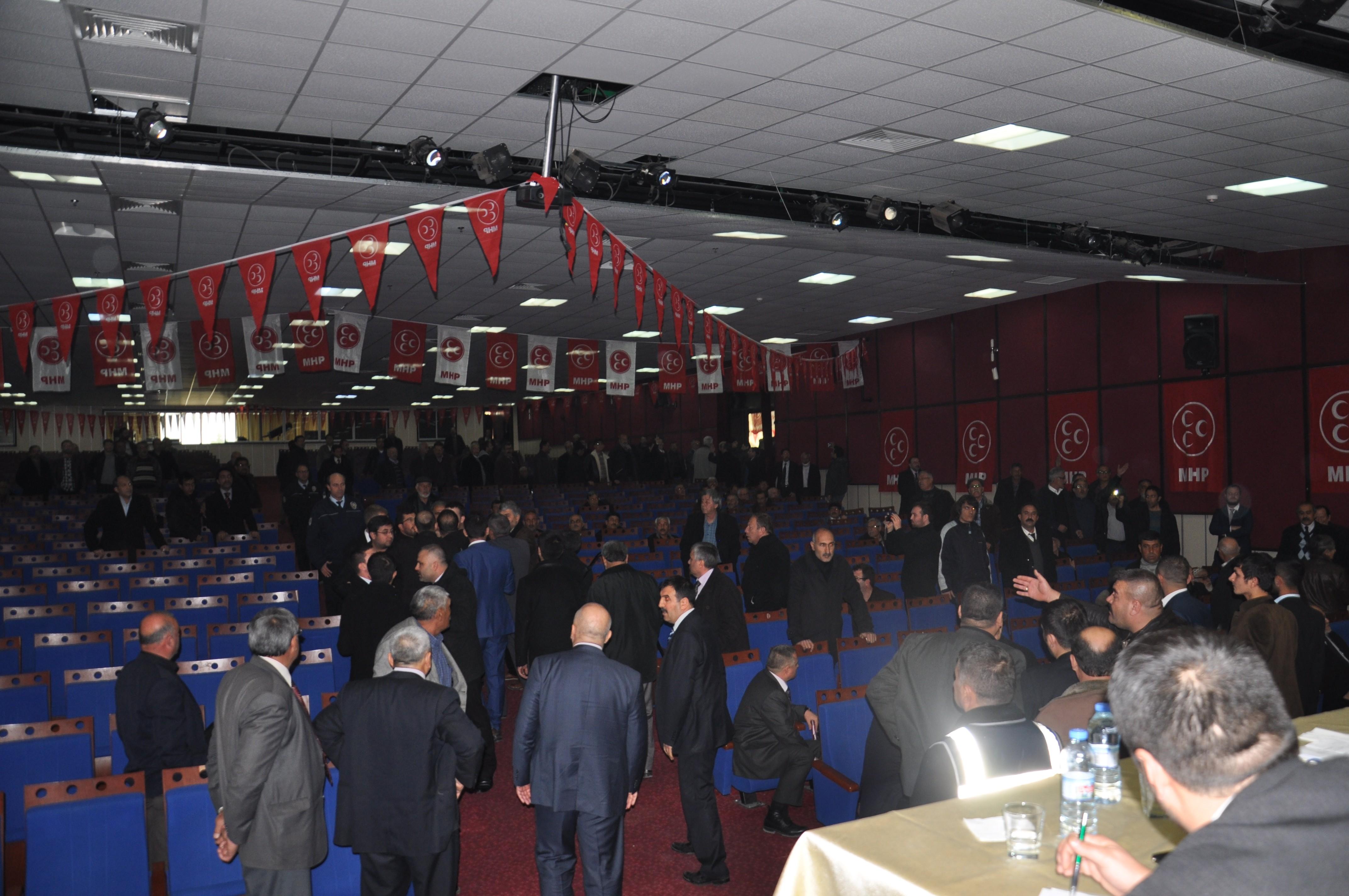 MHP Ereğli İlçe Kongresinde kavga