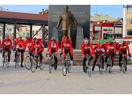 Sarıkamış şehitleri için bisiklet turu