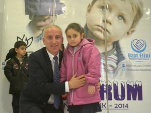 Almanyadan Konyalı çocuklara yardım