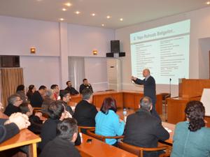 Ereğli belediyesi personeline imar semineri