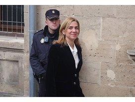 Prenses Cristina hakim karşısına çıkacak