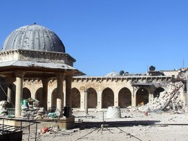Suriyede 290 kültürel miras alanı zarar gördü