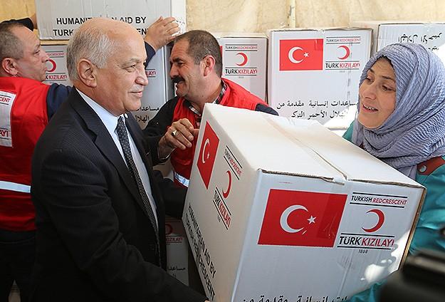 Kızılaydan Iraklı Türkmenlere yardım