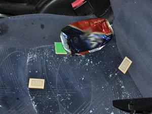 Konya'da otomobil tramvaya çarptı