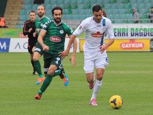 Torku Konyaspor Ç.Rizespor ile berabere kaldı
