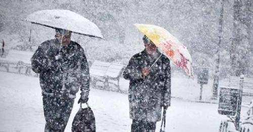 Konyaya kar ve buzlanma uyarısı