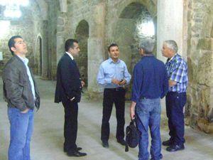 Altınekine İsrailden ziyaretçi