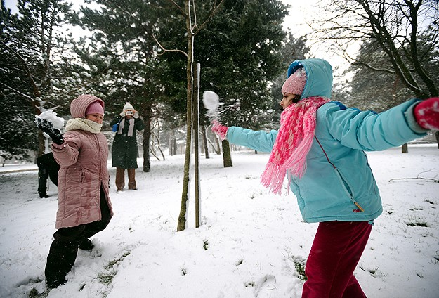Konyada eğitime kar engeli
