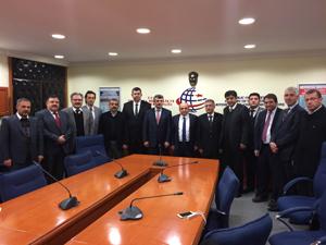 MÜSİAD Konya'dan Ankara'ya ziyaret