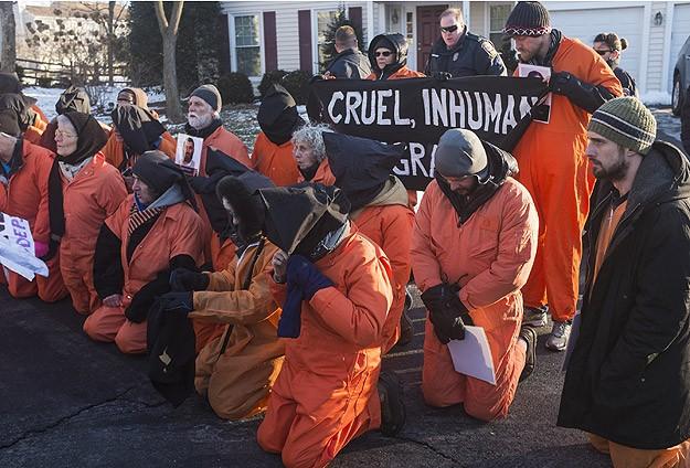 Washingtonda CIAin işkenceleri protesto edildi