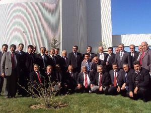 Belediye başkanları Çumra Şekeri gezdi