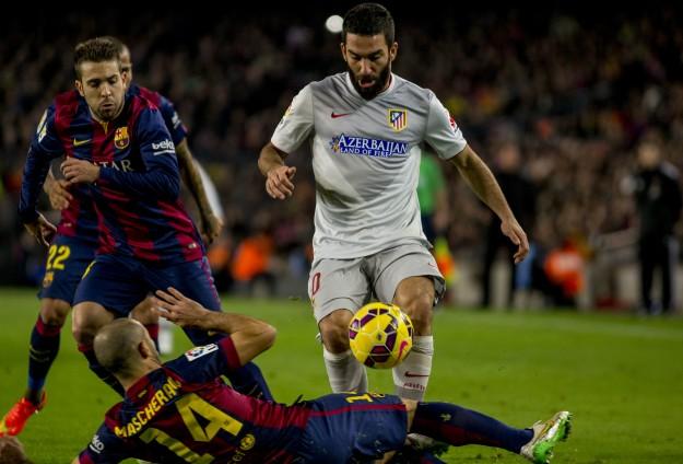 Barcelona, Aletico Madridi 3-1 yendi